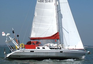 Jemima under Sail